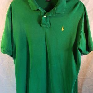 Ralph Lauren Mens Polo Size Large- Green